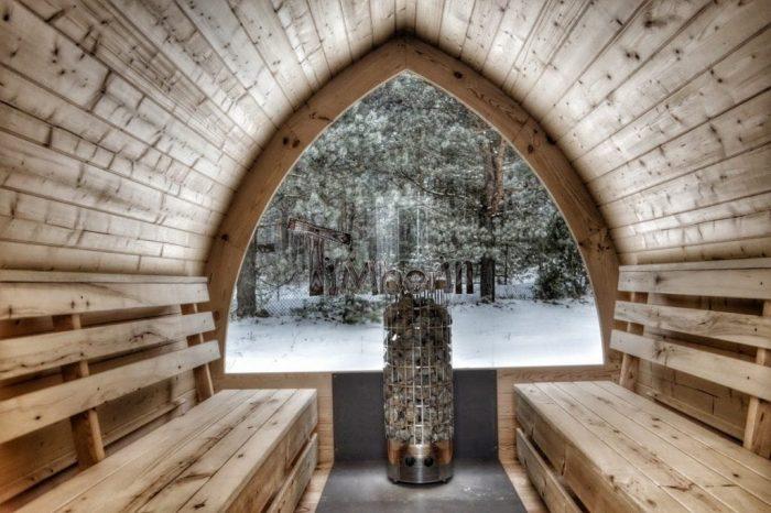 sauna extérieur à vendre