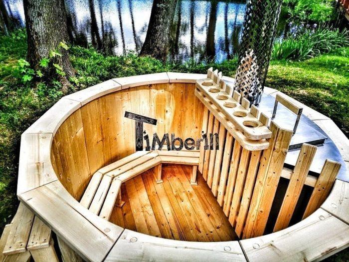 Bain Suedois en bois Norvegien Bois Pas Cher
