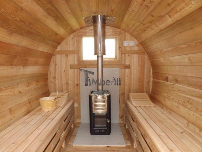 Saunas Extérieur Tonneau, Frédéric, Bourgogne Dracy, France (2)