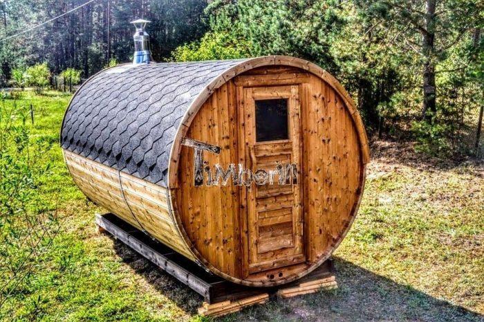 sauna tonneau extérieur