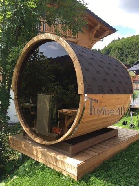 Sauna Extérieur Tonneau, Xose, LES GETS, France (3)