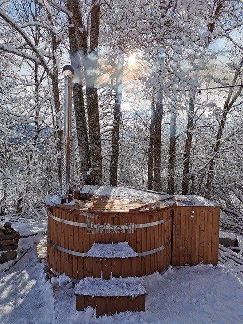 Jacuzzi Extérieur En Thermo Bois Deluxe, Caroline, ST JEAN ST NICOLAS, France (3)