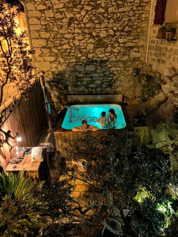 Bain Nordique En Polypropylene Rectangulaire Pour Max 16 Personnes, Julien, Mireval, France (1)
