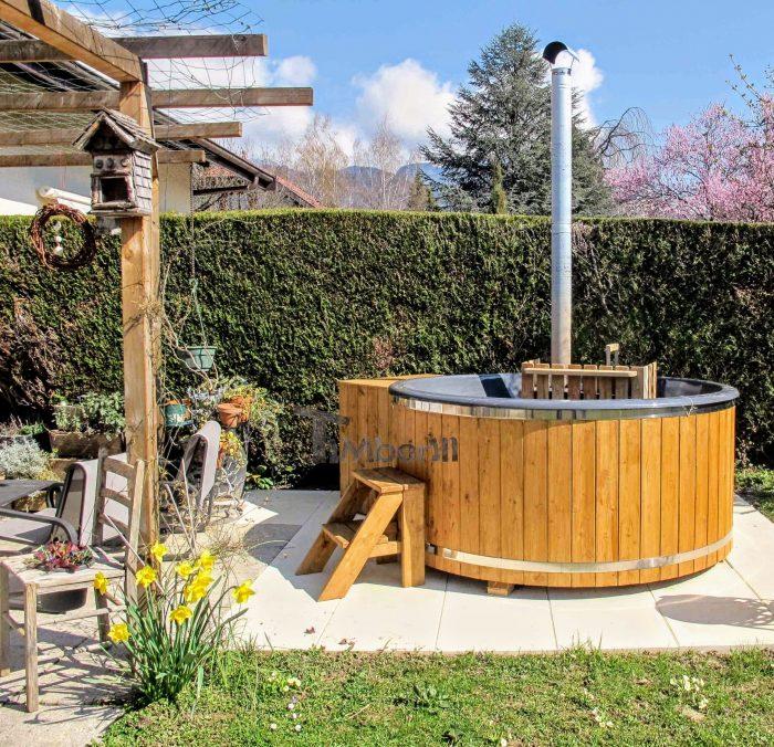 Bain Nordique Avec Poêle Intérieur Wellness Basic, Marcel, Annecy, France (4)