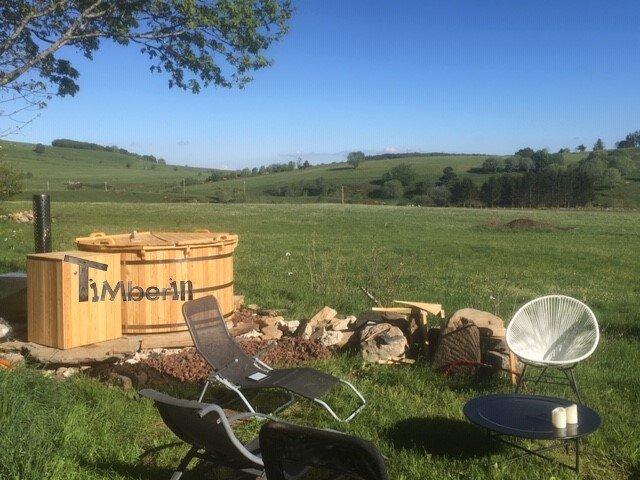 Bain Nordique Jacuzzi Meleze En Kit Pour Terrasse, Claire, SAGNES ET GOUDOULET, France (4)