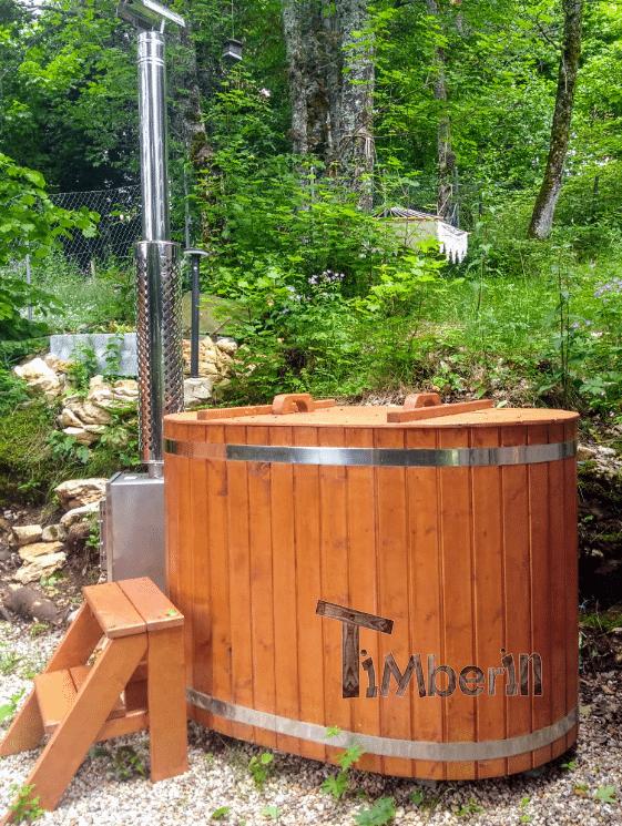 Sauna Extérieur Pour Un Espace De Jardin Limité, Bain Nordique En Bois Pour 2 Personnes, Hansjoerg, Saint Cergue VD, Suisse (1)