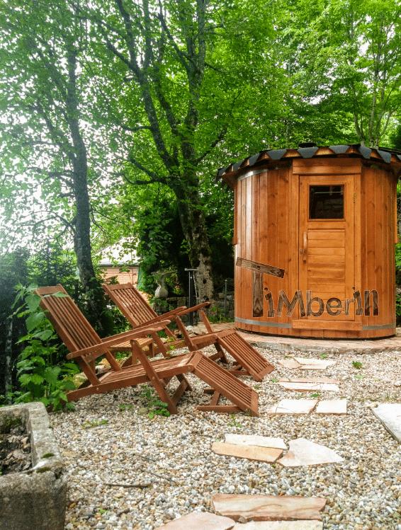 Sauna Extérieur Pour Un Espace De Jardin Limité, Bain Nordique En Bois Pour 2 Personnes, Hansjoerg, Saint Cergue VD, Suisse (3)