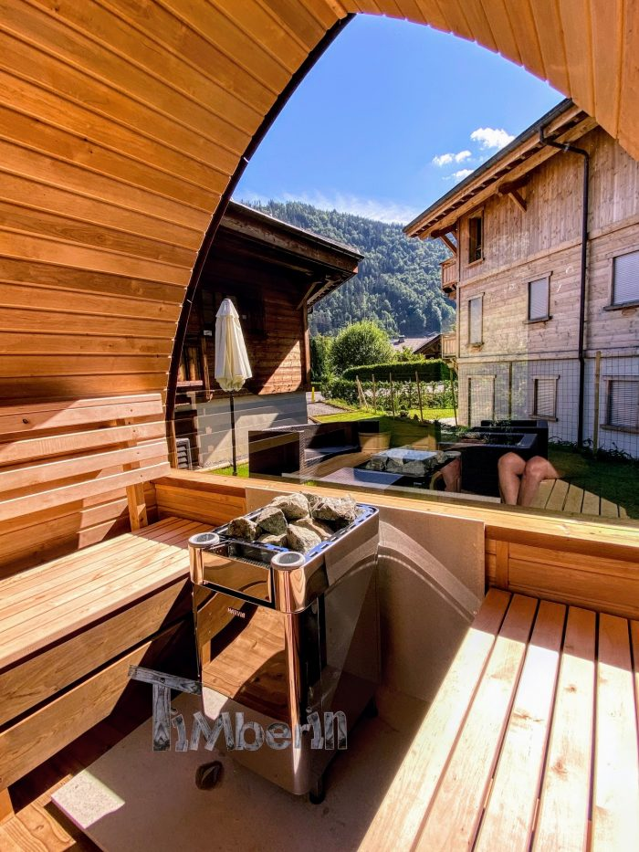 Outdoor Garden Sauna Pod – Iglu (1)
