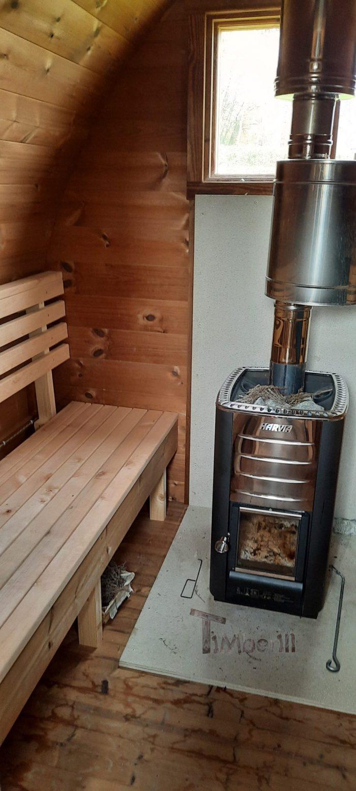 Sauna Extérieur Jardin Iglu, Brigitte, NANTEAU SUR LUNAIN, France (4)