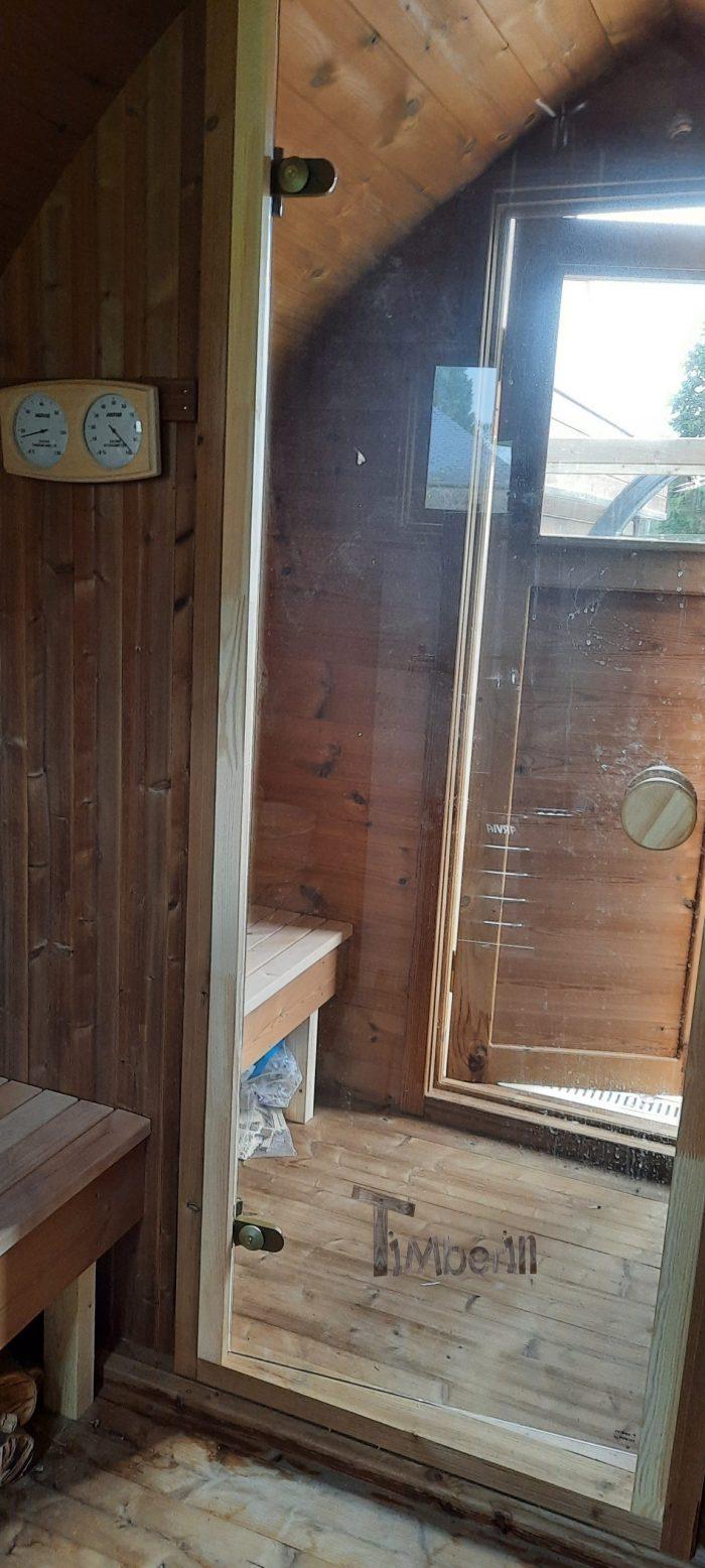 Sauna Extérieur Jardin Iglu, Brigitte, NANTEAU SUR LUNAIN, France (6)