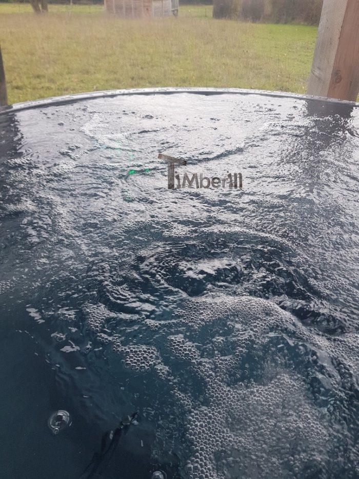 Bain Nordique Jacuzzi Avec Poêle Extérieur Bois Gaz Diesel, Elodie, Berson, France (4)